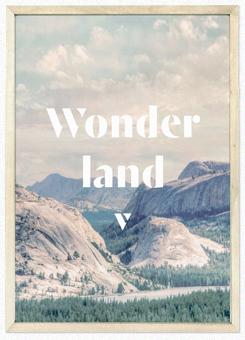 Faunascapes Poster Print Wonderland