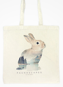Faunascapes Totebag Raccoon
